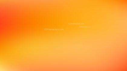 Orange and Yellow Blurry Background Illustration