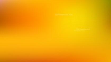 Orange and Yellow Blurred Background
