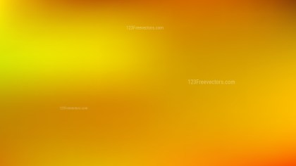 Orange and Yellow Blur Background