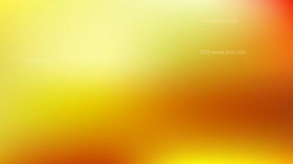 Orange and Yellow Presentation Background Design