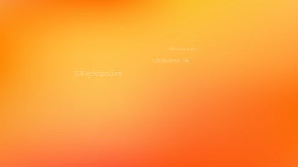 Orange and Yellow Blurred Background Vector Image