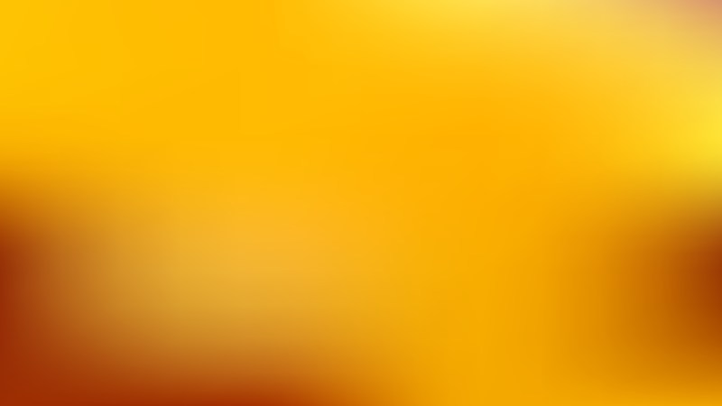Orange and Yellow Blurry Background Vector Illustration