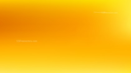Orange and Yellow PowerPoint Background Vector