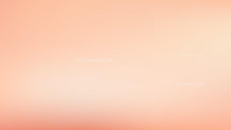 Pastel Orange PowerPoint Slide Background