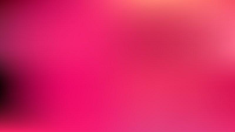 Pink Blur Background Vector