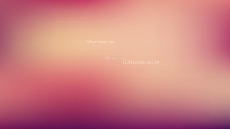 Pink and Beige Blur Photo Wallpaper