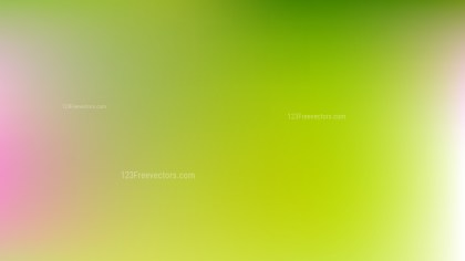 Pink and Green Blurry Background Vector Image