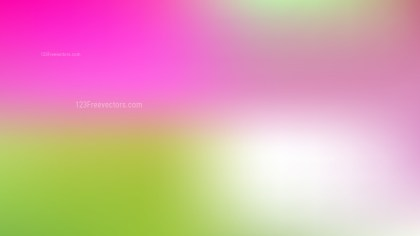 Pink and Green Presentation Background Vector