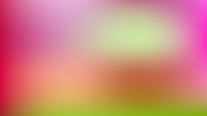 Pink and Green Blur Background Design