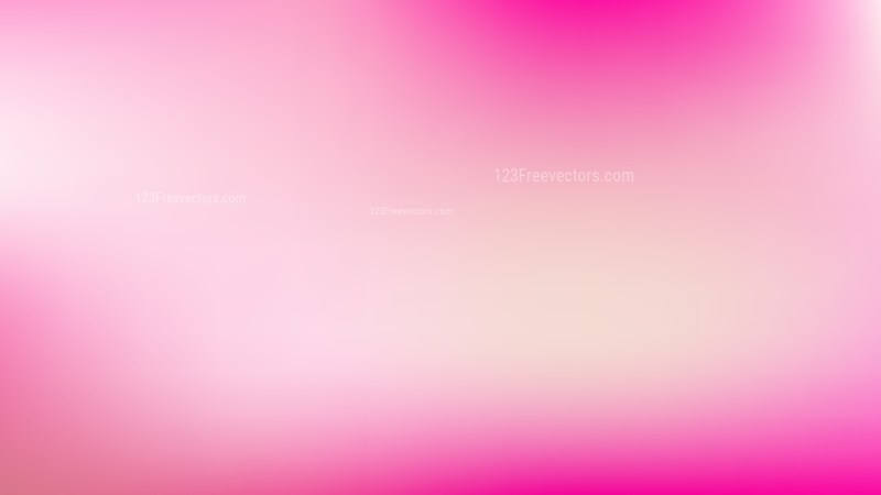 Pink and White PPT Background Vector Illustration