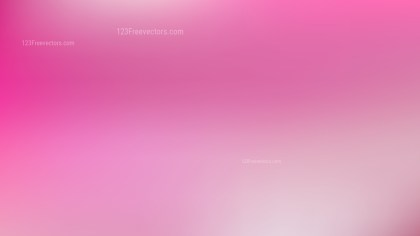 Pink and White Blurry Background