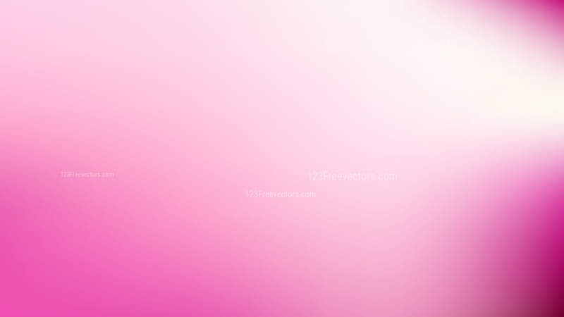 Pink and White Blurred Background Vector Art