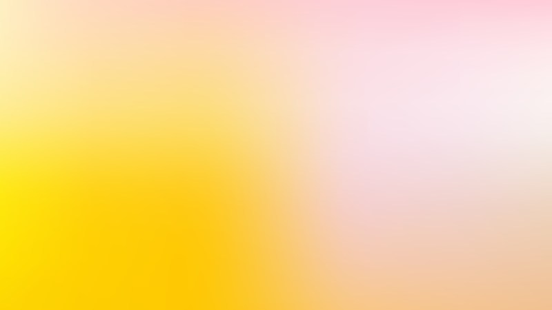 Pink and Yellow Business PPT Background Illustration