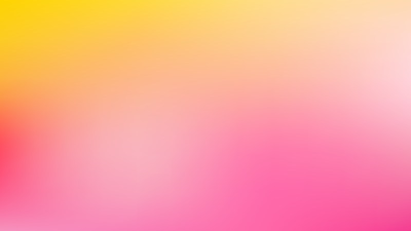 Pink and Yellow Corporate PPT Background Vector Graphic