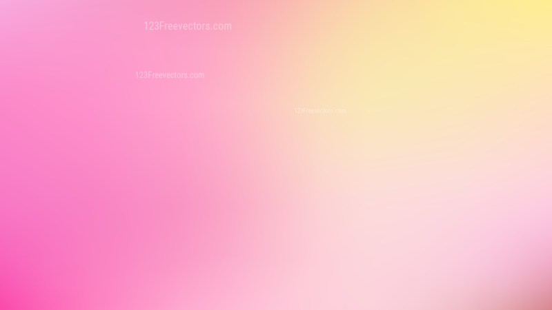 Pink and Yellow PowerPoint Presentation Background Illustrator