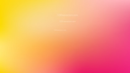 Pink and Yellow Gaussian Blur Background Vector Art