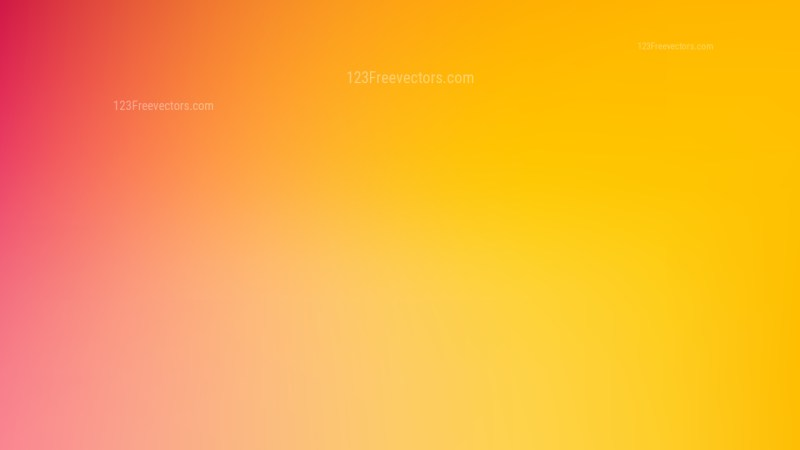 Pink and Yellow PPT Background Vector Image