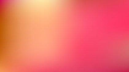 Pink and Yellow Blurry Background Illustration