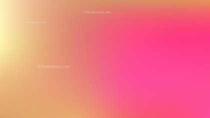 Pink and Yellow PowerPoint Background Design