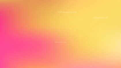 Pink and Yellow PPT Background Image