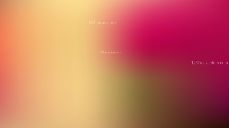 Pink and Yellow Corporate PowerPoint Background