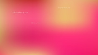 Pink and Yellow Blur Photo Wallpaper