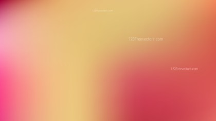 Pink and Yellow Business PPT Background Vector Art