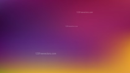 Purple and Yellow Blurry Background Vector Illustration