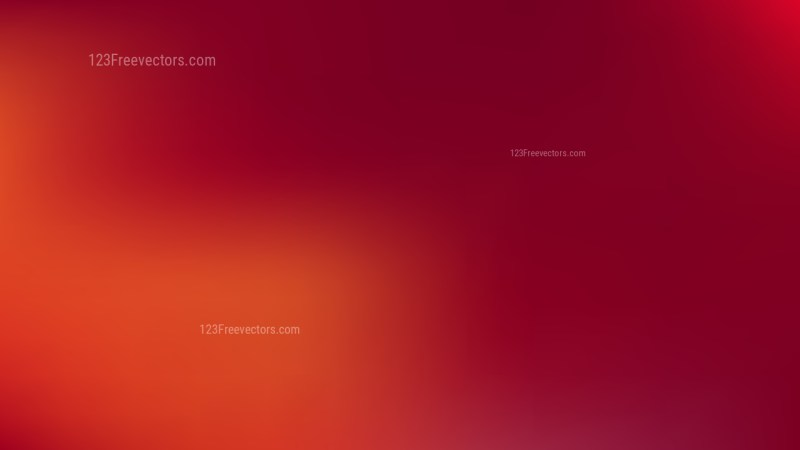 Red Simple Background