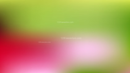 Red and Green Gaussian Blur Background