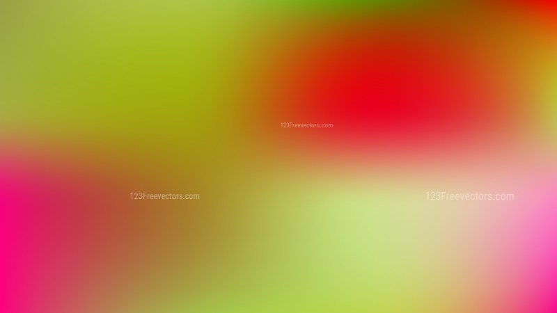 Red and Green Blur Photo Wallpaper
