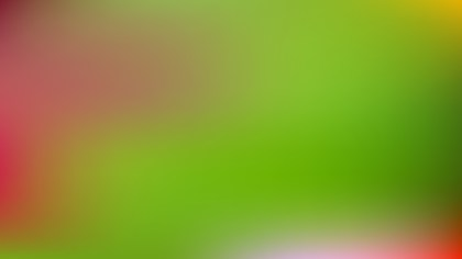 Red and Green Gaussian Blur Background Vector Illustration