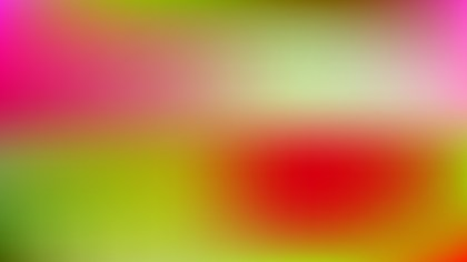 Red and Green Blur Background