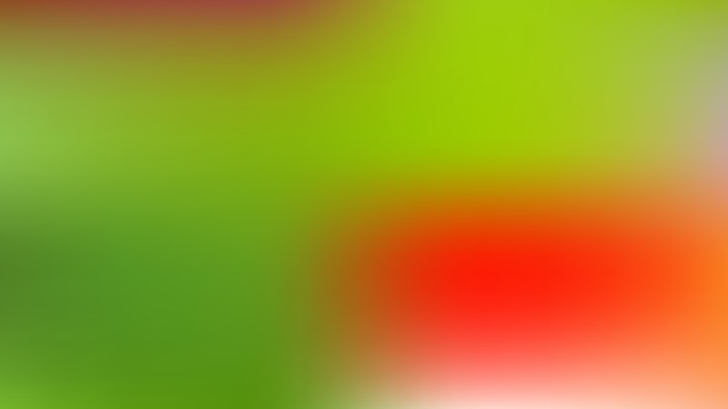 Red and Green Blurry Background Illustration