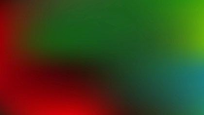 Red and Green PowerPoint Background