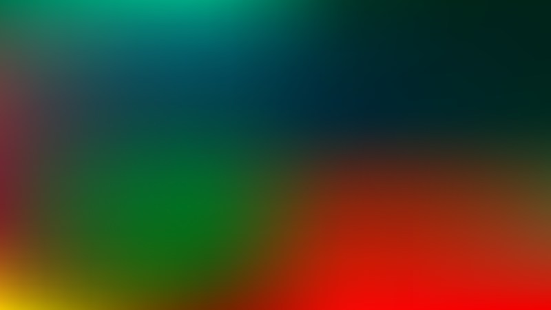 Red and Green Blurred Background Vector Image