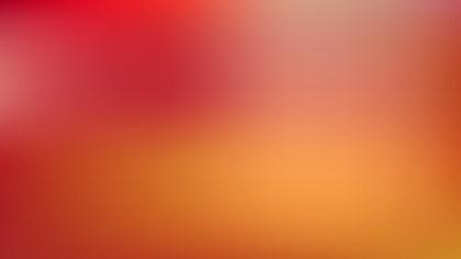 Red and Orange Blurred Background Vector Illustration