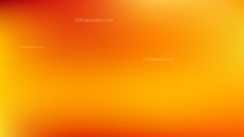 Red and Orange Blur Background