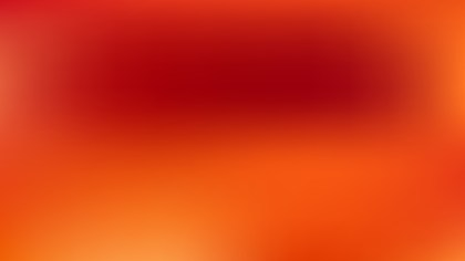 Red and Orange Blurred Background Image