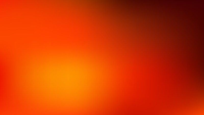 Red and Orange Blurred Background Vector Image