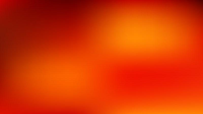 Red and Orange Blurred Background