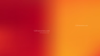 Red and Yellow Blurred Background Illustration