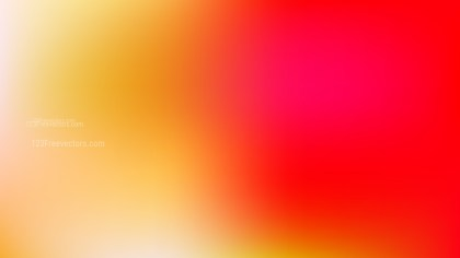 Red and Yellow Blurry Background