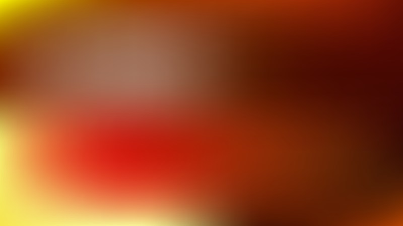 Red and Yellow Blur Background Design
