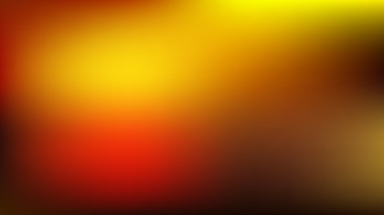 Red and Yellow Blurred Background