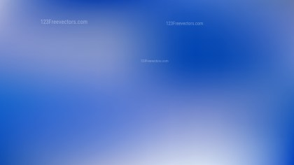 Royal Blue Blurred Background Vector Illustration