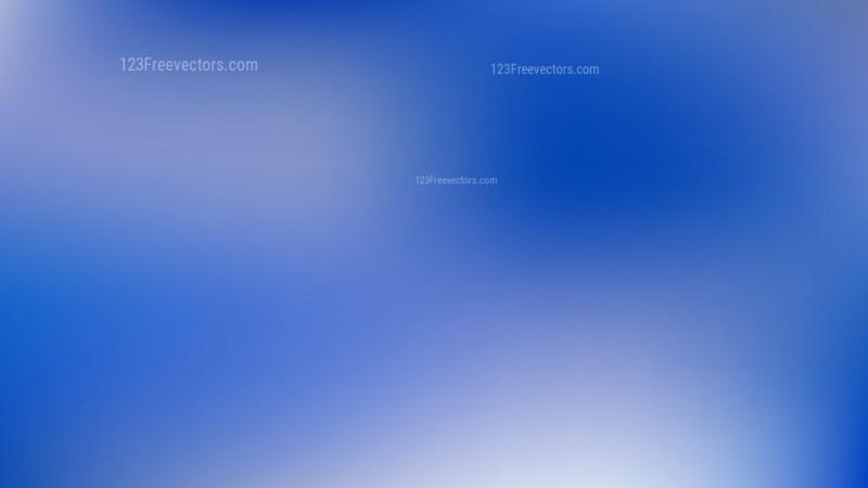 Royal Blue Blurred Background Vector Illustration