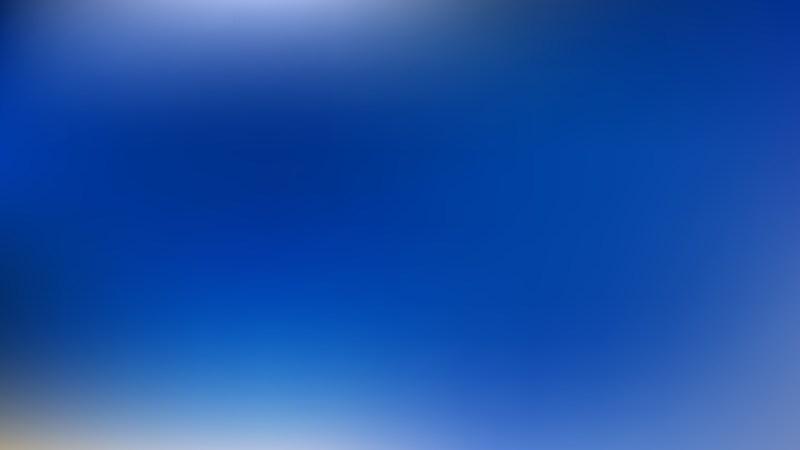 Royal Blue Photo Blurred Background
