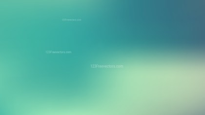 Turquoise Blur Background