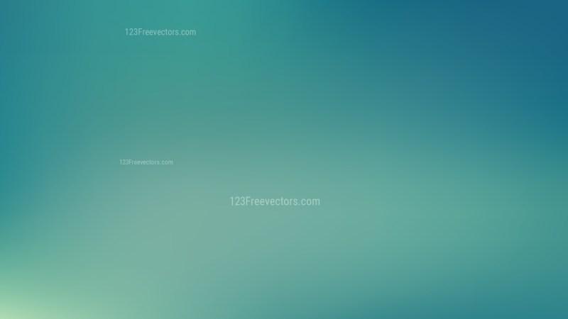 Turquoise Blurry Background Illustration